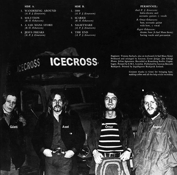 Icecross, the album